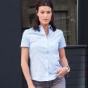 Camicia JE973F RUSSELL donna manica corta look raffinato