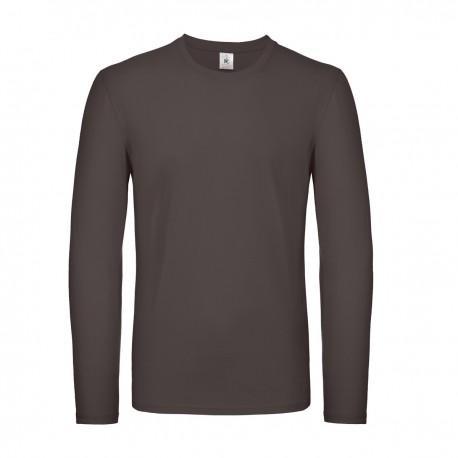 T-shirt BCTU05T B&C manica lunga ideale per la stampa 145g/m2