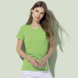 T-shirt ST2620 STEDNMAN donna manica corte cuciture rinforzate 145g/m2