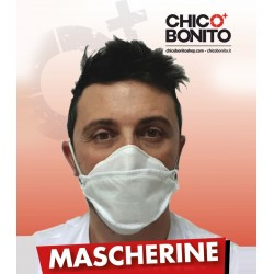 5 Mascherine in TNT Made in Italy ad uso libero