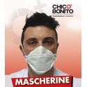 5 Mascherine in TNT Made in Italy ad uso libero