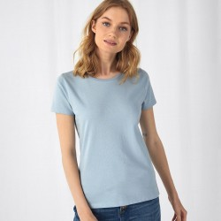 T-Shirt B&C BCTW02B Donna ORGANIC E150 W 100% COT Manica corta,Setin