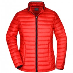 Giacca JAMES & NICHOLSON JN1081 Donna LADY QUILTED DOWN JACKET 100%P Manica lunga