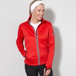 Soft shell JAMES & NICHOLSON JN1125 Donna W Sport Softshell Jacket 100%P Manica lunga