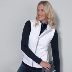 Soft shell JAMES & NICHOLSON JN1127 Donna W Promo Softshell Vest 100%P Senza maniche