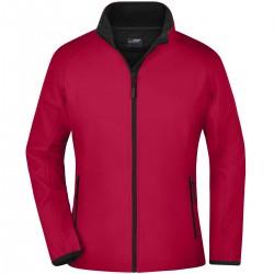 Soft shell JAMES & NICHOLSON JN1129 Donna W Promo Softshell Jacket 100%P Manica lunga