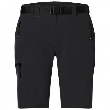 Pantaloni JAMES & NICHOLSON JN1203 Donna Ladies'Trekking Shorts85%P15%E