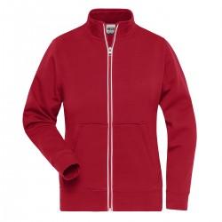 Felpa JAMES & NICHOLSON JN1809 W DoubleF Work Jacket 55%P45%C