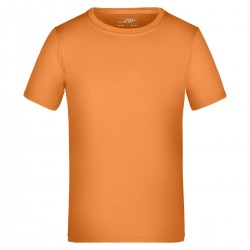 T-Shirt JAMES & NICHOLSON JN358K Bambino Active-T Junior 100%P Manica corta,Setin