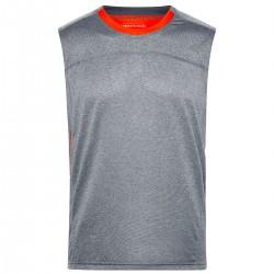 T-Shirt JAMES & NICHOLSON JN470 Uomo MEN RUNNING TANK 100%P J&N Senza maniche,Setin