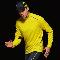 T-Shirt JAMES & NICHOLSON JN474 Uomo MEN RUNNING T-SH M/L 100%P Manica lunga,Setin