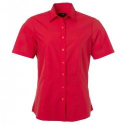 Camicia JAMES & NICHOLSON JN679 Donna W Shirt SS Popline 65%P 35%C Manica corta