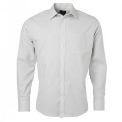 Camicia JAMES & NICHOLSON JN686 Uomo M Shirt LS Oxford 70%C 30%P Manica lunga