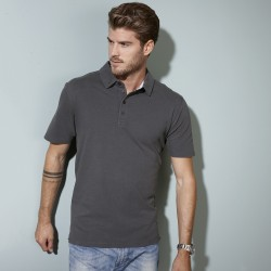 Polo JAMES & NICHOLSON JN712 Uomo Men's polo 100%C Manica corta
