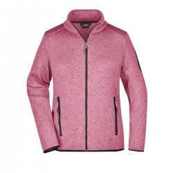 Pile JAMES & NICHOLSON JN761 Donna W Knitted Fleece Jacket 100%P