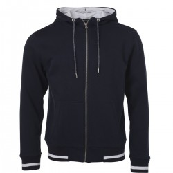 Felpa JAMES & NICHOLSON JN776 Uomo M Club Sweat Jacket 80%C 20%P Manica lunga,Setin