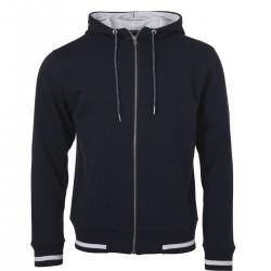 Felpa JAMES & NICHOLSON JN776 Uomo M Club Sweat Jacket 80%C 20%P Manica lunga,Setin