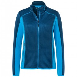 Pile JAMES & NICHOLSON JN783 Donna Ladies'Fleece Jacket92%P8%E Manica lunga