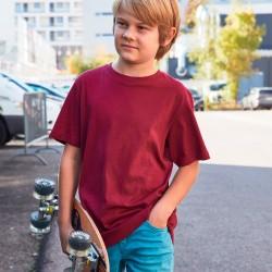 T-Shirt JAMES & NICHOLSON JN8008B Bambino Boys' Basic-T 100%C Manica corta,Setin