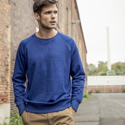 Felpa JAMES & NICHOLSON JN8022 Uomo Men´s Sweat 85%OCS 15%V Manica lunga,Raglan