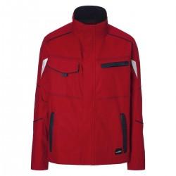 Giacca JAMES & NICHOLSON JN849 Unisex Workwear Jacket 97%C3%E Manica lunga