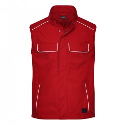 Soft shell JAMES & NICHOLSON JN881 Work. Softsh. Light Vest 100%P