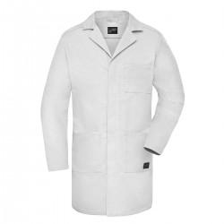 Giacca JAMES & NICHOLSON JN888 Work Coat 50%C 50%P