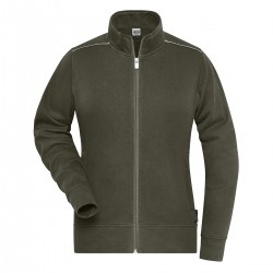 Felpa JAMES & NICHOLSON JN893 W. Work Sweat-Jacket 70%C30%P