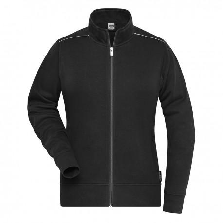 Felpa JAMES & NICHOLSON JN893 W. Work Sweat-Jacket 70%C30%P