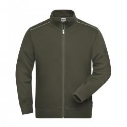 Felpa JAMES & NICHOLSON JN894 M. Work Sweat-Jacket 70%C 30%P