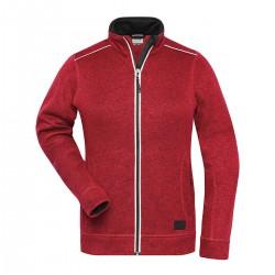 Pile JAMES & NICHOLSON JN897 W.Knitted WorkFleece Jack100%P