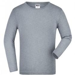 T-Shirt JAMES & NICHOLSON JN913K Bambino JR T-SHIRT M/L 100%C J&N Manica lunga,Setin