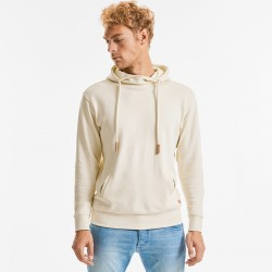 Felpa RUSSELL EUROPE JE209M Uomo High Collar Hooded Sweat100%OC Manica lunga,Setin