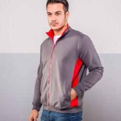 Felpa COLORE ITALIANO MI810 Unisex Zip sweatshirt 100%C Manica lunga,Setin