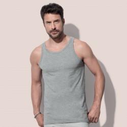 T-Shirt STEDMAN ST2810 Uomo TANK TOP 100% COT Senza maniche