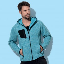 Pile STEDMAN ST5860 Uomo Recyc Fleece Jacket Hero Men10 Manica lunga