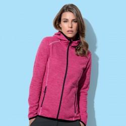 Pile STEDMAN ST5960 Donna Recy Fleece Jacket Hero Wom100 Manica lunga
