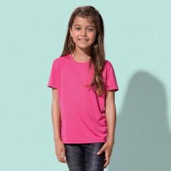 T-Shirt STEDMAN ST8170 Bambino SPORTS-T KIDS 100%POL Manica corta