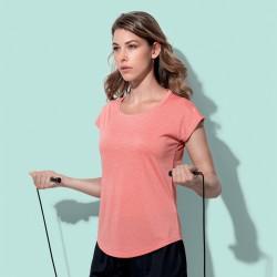 T-Shirt STEDMAN ST8930 Donna RECYCL.SPORT T-MOVE W 100%P Manica corta