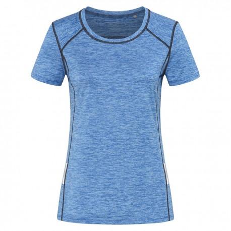 T-Shirt STEDMAN ST8940 Donna RECYCL.SPORT T-REFL.W.90%P10%E Manica corta