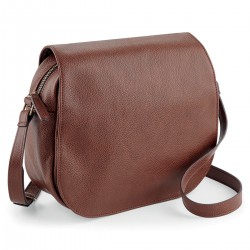 Borsa QUADRA QD885 Unisex NuHide Saddle Bag 100%PU