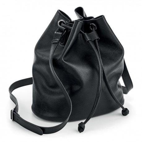 Borsa QUADRA QD886 Unisex NuHide™ Bucket Bag 100%PU