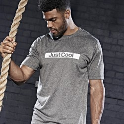 T-Shirt AWDIS JUST COOL JC004 Uomo Cool Urban T 100% P Manica corta,Setin