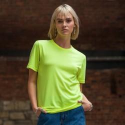 T-Shirt AWDIS JUST TS JT004 Uomo ElectrTri-BlendT50%P25%V25%C Manica corta,Setin