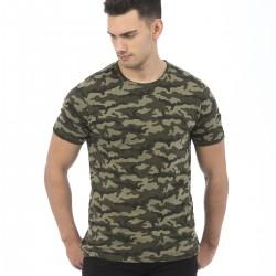 T-Shirt AWDIS JUST TS JT034 Uomo Camo T 100%C Manica corta,Setin