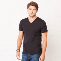 T-Shirt BELLA+CANVAS BE3005 Uomo JERSEY V-NECK TEE 100% C Manica corta,Setin