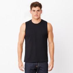 T-Shirt BELLA+CANVAS BE3483 Uomo UNISEX MUSCLE TANK 100% C Senza maniche