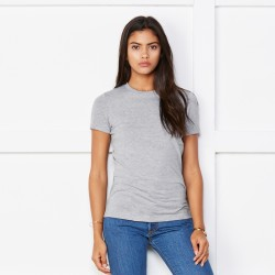 T-Shirt BELLA+CANVAS BE6004 Donna WOMEN'S THE FAVORITE TEE 100%C Manica corta,Setin