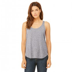 T-Shirt BELLA+CANVAS BE8802 Donna Women's slit tank 65%P. 35%V. Senza maniche,Setin