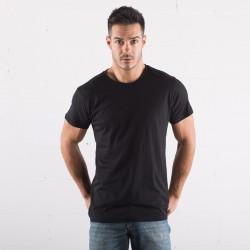 T-Shirt BS BS050 Uomo T-shirt m/corte 100% cot. Orga Manica corta,Setin
